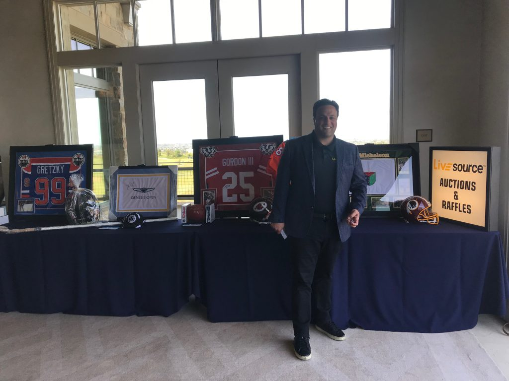 LiveSource at the LA Chargers Celebrity Golf Tournament